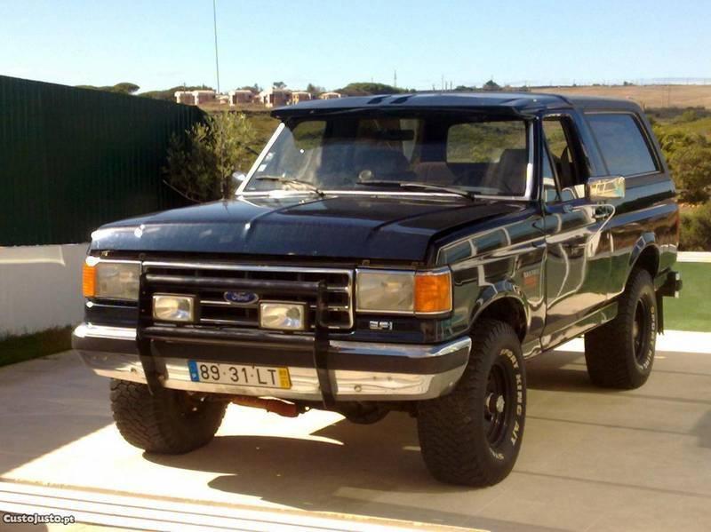 Vendido Ford Bronco Xlt 89 Carros Usados Para Venda