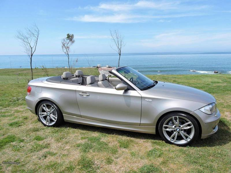 sold bmw 120 cabriolet d 177cv 09 carros usados para venda. Black Bedroom Furniture Sets. Home Design Ideas