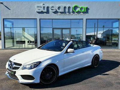 usado Mercedes E220 CDi Cabrio AMG Line Auto