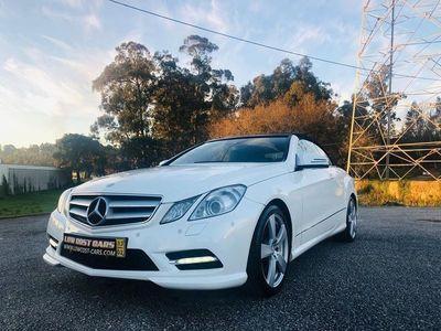 usado Mercedes E220 CDI Cabrio AMG