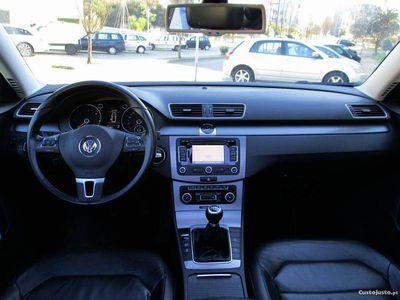 usado VW Passat TDI est.pele GPS -