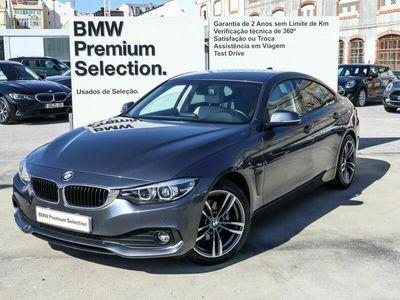 usado BMW 420 Gran Coupé Serie 4 d Auto 2018