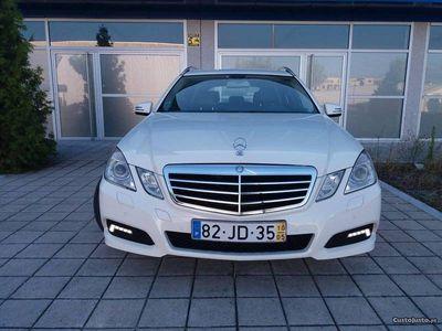 usado Mercedes E250 Avantgarde-204cv