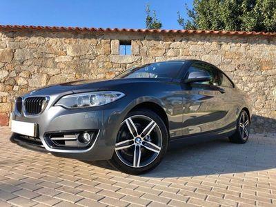 usado BMW 218 D Coupe Line Sport