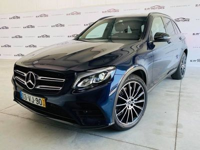 usado Mercedes GLC250 d 4-Matic AMG Line Pack Night