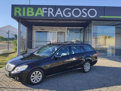 usado Mercedes E200 CDi Classic BlueEfficiency Auto