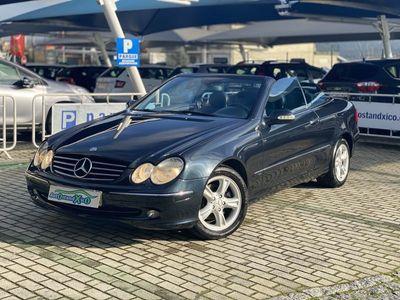 usado Mercedes CLK200 Cábrio Kompressor