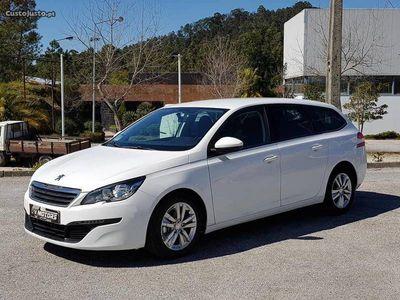 brugt Peugeot 308 SW 1.6 Bluehdi 92cv