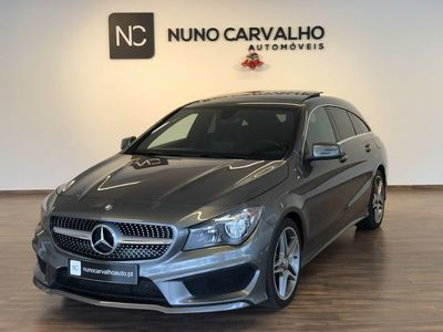 usado Mercedes CLA200 Shooting Brake D AMG T.PANORAMICO