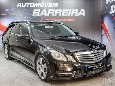 usado Mercedes E250 ClasseCDi Avantgarde BlueEf. Auto. (204cv) (5p)