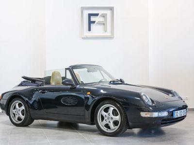 używany Porsche 911 Carrera Cabriolet 993