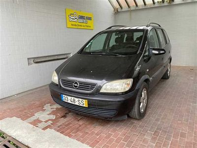usado Opel Zafira 1.6 Confort