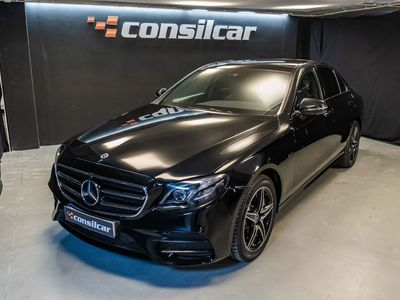 usado Mercedes E300 Hybrid Plug-in AMG Pack Navigator C/IVA