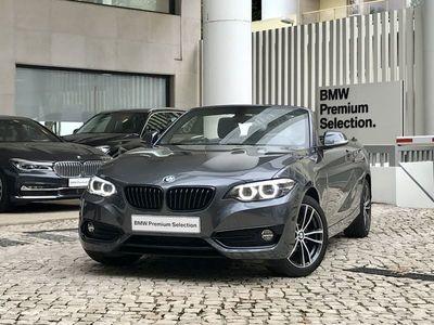 usado BMW 218 Série 2 d Line Sport Shadow Edition Auto 2019