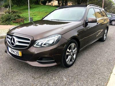 usado Mercedes E300 BluetecHybrid Station Avantgarde