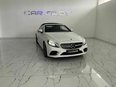 usado Mercedes C180 CABRIO 9G-TRONIC AMG LINE