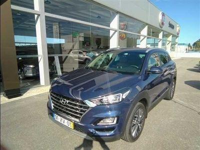 usado Hyundai Tucson 1.6 CRDi Premium+Pack PeleViatura de serviço