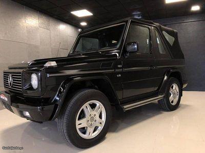 usado Mercedes G400 CDI Cabrio
