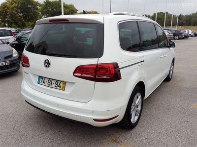 used VW Sharan 2.0 TDi Blue Highline (184cv) (5p)