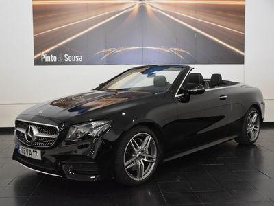 usado Mercedes E220 Cabrio AMG Line