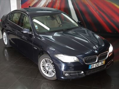 usado BMW 520 d Auto GPS Profissional