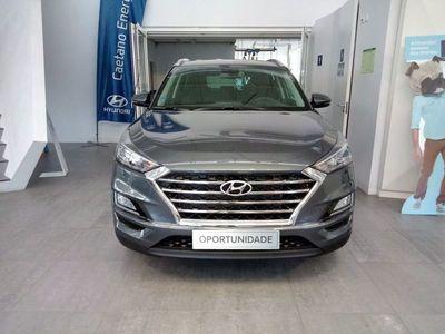 usado Hyundai Tucson 1.6 CRDi 48Premium+Pele DCT 2020