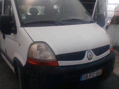 usado Renault Master 7 lugares com caixa