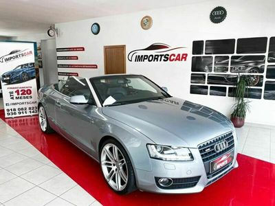 usado Audi A5 Cabriolet 2.7TDI 3X S-LINE