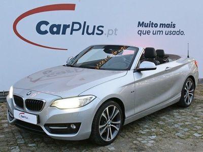 usado BMW 220 Série 2 D Cabrio Luxury