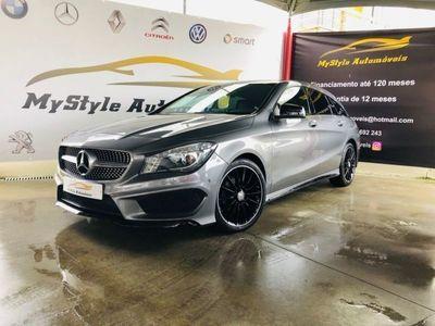 usado Mercedes CLA200 Shooting Brake AMG Pack Night automática Full Extras
