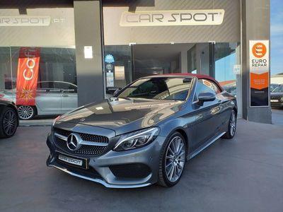 usado Mercedes C220 D CABRIO 9G-TRONIC AMG AUT