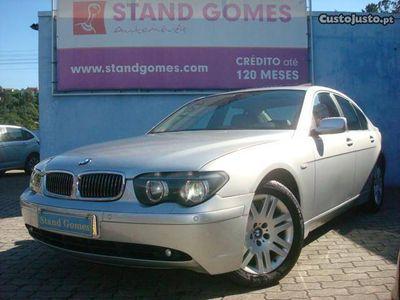 gebraucht BMW 730 dA Nacional 218cv