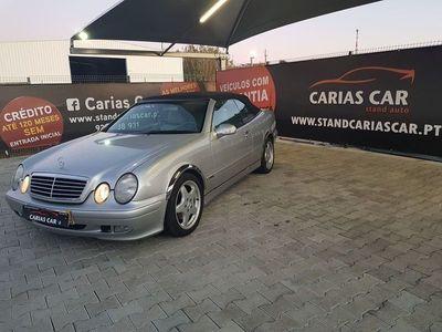 usado Mercedes CLK200 kompressor Cabrio Nacional - 163cv - Selo Antigo