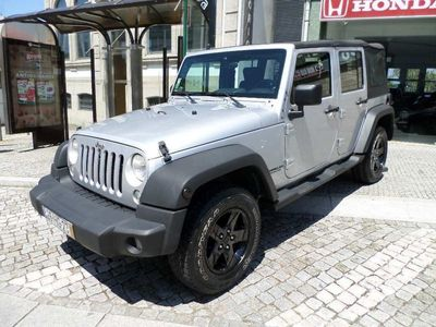 used Jeep Wrangler 2.8 crd UNLIMITED GPS