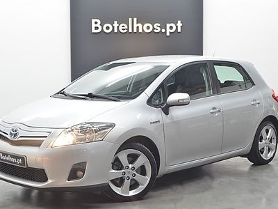 brugt Toyota Auris 1.8 HSD Hybrid Pack Techno+Estofos Alcantara+Pack Navi