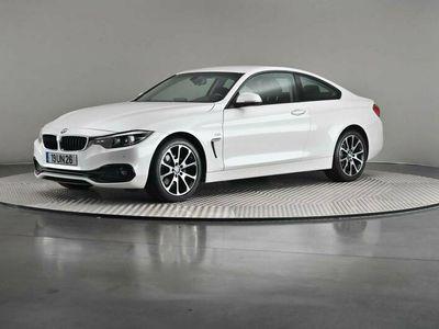 usado BMW 420 4 Serie d Line Sport Auto