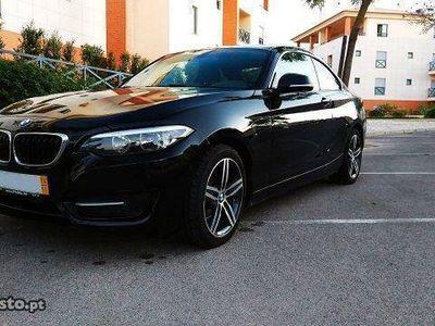 usado BMW 218 D sport coupe