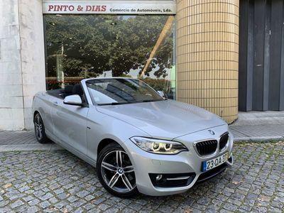 usado BMW 220 d Cabrio Line Sport