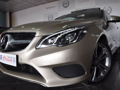 usado Mercedes E220 E220 coupe caix aut 9 velocidades tet pano