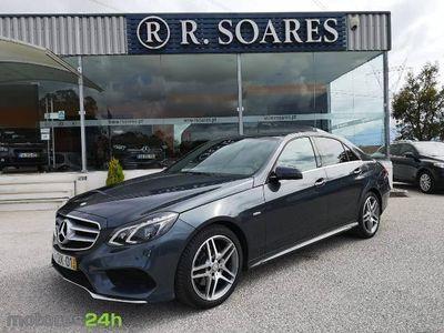 usado Mercedes E250 ClasseBlueTEC Avantgarde Aut. (204cv) (4p)