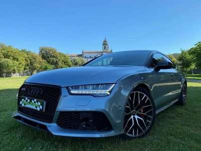 usado Audi A7 3.0 BiTurbo V6 quattro S-line Tiptronic look RS7