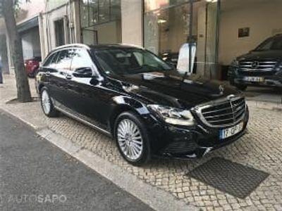 usado Mercedes C220 ClasseBlueTEC Exclusive 7G-TRONIC (170cv) (5p)