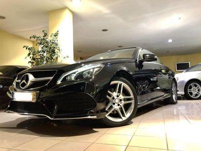 usado Mercedes E220 Bluetec Cabrio AMG