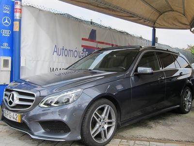 gebraucht Mercedes E300 BlueTEC Hybrid AMG