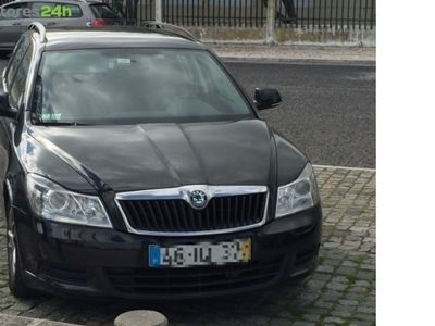 gebraucht Skoda Octavia Break 1.6 TDi Greenline