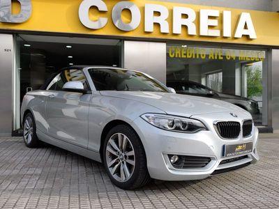 usado BMW 220 d Cabrio Auto