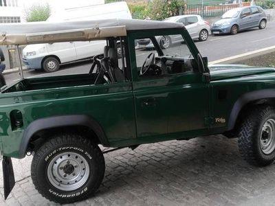 brugt Land Rover Defender Td5 Soft Top