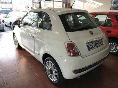 usado Fiat 500 1.2i Longe + Teto panorâmico -