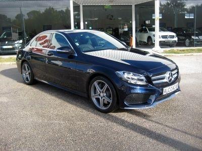 usado Mercedes C250 C 250BlueTEC AMG Line Aut.Viatura de serviço