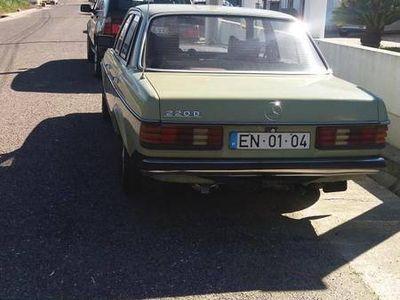 usado Mercedes 220 w 123 diesel 77